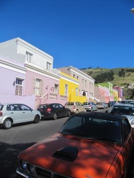 Toutes les maisons sont colorées