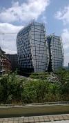 Buildings du quartier des affaires