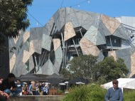 Batiments de Federation Square à Melbourne