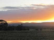 camping sur la route de Canberra