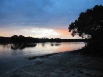 Myola près de Jervis Bay...petit spot pour dormir avec un beau coucher de soleil!