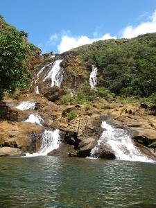 cascade à Yaté