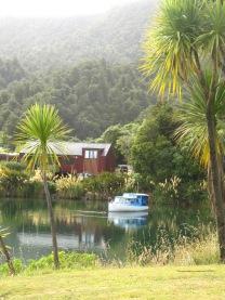 camping super sympa au milieu du parc national Waikaremoana