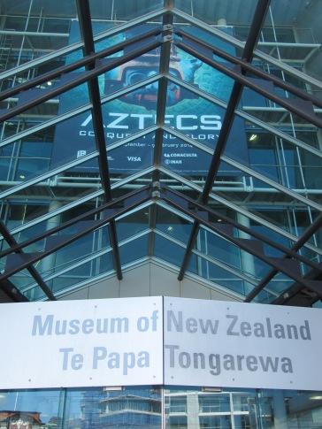 le musée Te Papa, un des plus beaux musée que j'ai pu faire jusqu'a présent