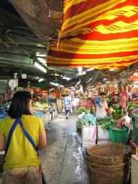 Les petits marchés quand on se perd dans Bangkok