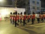 La garde royale lors d'une apparition du Prince.