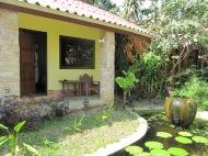 Découverte de la super guesthouse et de notre bungalow