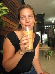 Thai tea...glacé