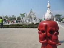 Wat Rong Khun, un ovni parmis les temples!