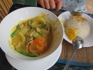 un Amok, plat cambodgien