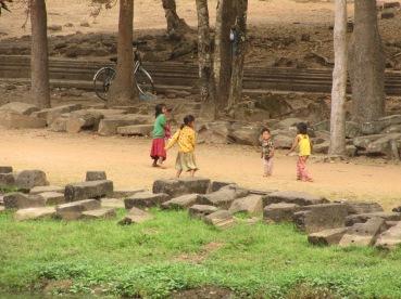 Un grand terrain de jeu pour les enfants