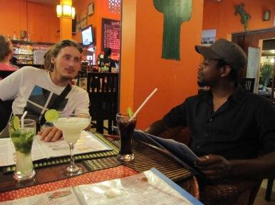 Petit cocktail avec Paul notre copain de route