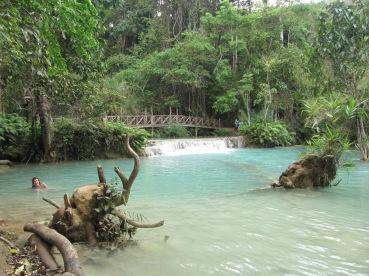 petit étang en aval de la cascade