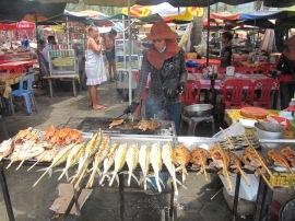 Marché aux crabes et ses produits on ne peut plus frais!