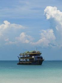 Notre bateau pour le retour
