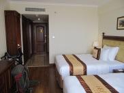 Notre magnifique chambre d'hôtel avec plein d'étoiles!