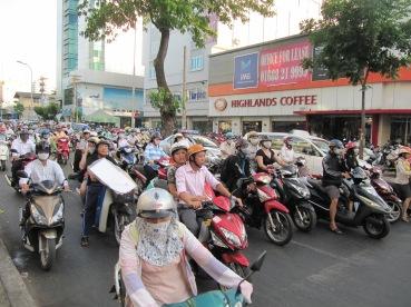 Les rues de Saigon