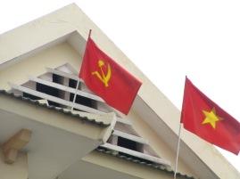Oui nous sommes bien en pays communiste!