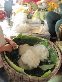 Les nouilles de riz: j'adore!
