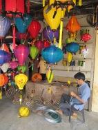 Confection de lanternes