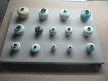 collection de céramiques