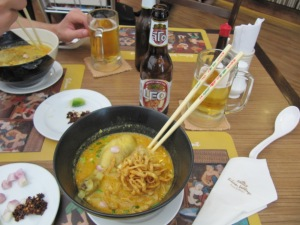 Dernier repas Thaï